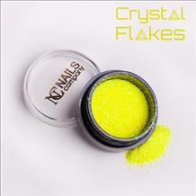 nc crystal flakes neon yellow-2467