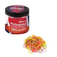 gumki silikonowe kolorowe 500szt-3989